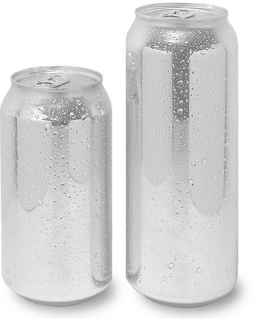 12oz and 16oz aluminum cans from Cascadia Can Company - Trusted Beverage Industry Can Supplier